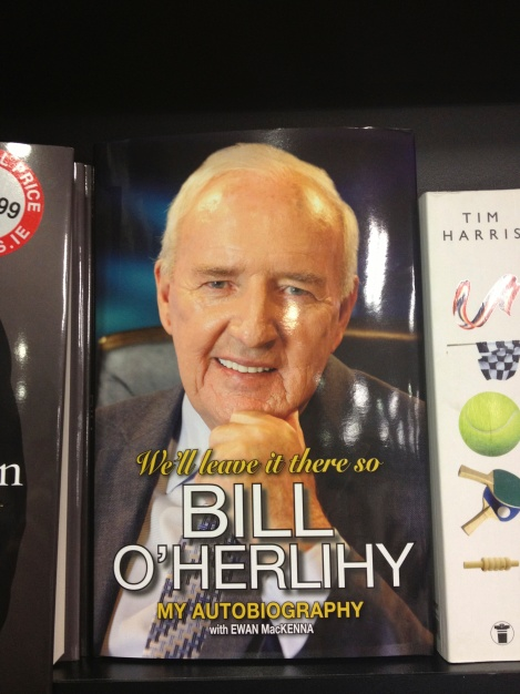 . ...and the Irish Bill O'Reilly, who is himself Irish I suppose, so that's kind of strange.