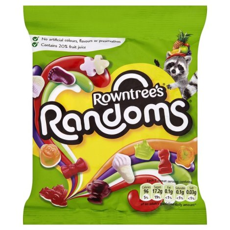 Between Guinness and the local chippy, I miss Randoms most.